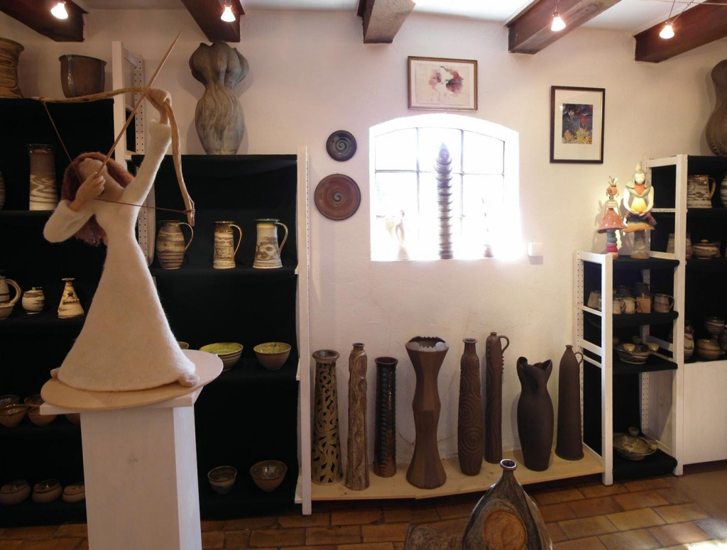 Blick in die Ausstellung von Ina Lindhammer