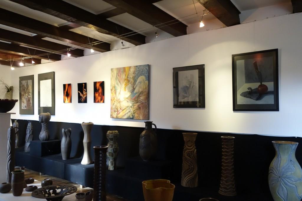 Blick in die Kunst- und Keramikstube