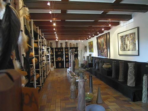 Sommergalerie 2014 - Blick in die Kunst- und Keramikstube